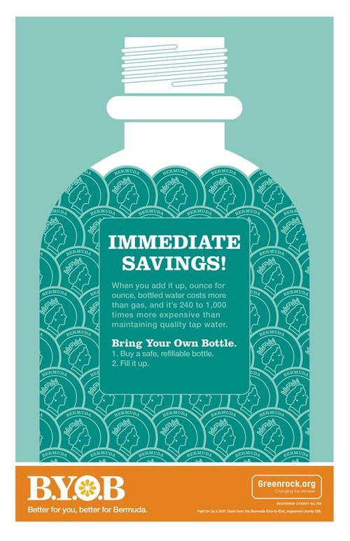 Greenrock: BYOB Campaign: Savings Poster